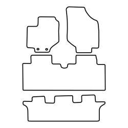 TCP Autospecifieke Pasvorm Automattenset Hyundai Traject