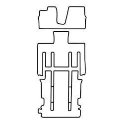TCP Autospecifieke Pasvorm Automattenset Kia Carnival (001)