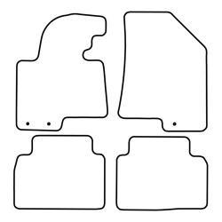 TCP Autospecifieke Pasvorm Automattenset Kia Sportage (003)