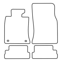 TCP Autospecifieke Pasvorm Automattenset Mini Cabrio