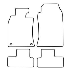 TCP Autospecifieke Pasvorm Automattenset Mini Cooper / mini Cooper one (001)