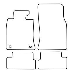 TCP Autospecifieke Pasvorm Automattenset Mini Cooper / D / S / One (002)