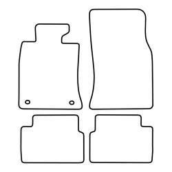 TCP Autospecifieke Pasvorm Automattenset Mini Cooper Clubman  / D Clubman / S Clubman