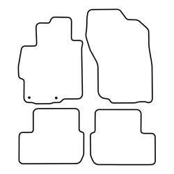 TCP Autospecifieke Pasvorm Automattenset Mitsubishi Lancer (004)