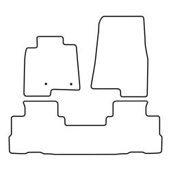 TCP Autospecifieke Pasvorm Automattenset Mitsubishi Pajero (005)
