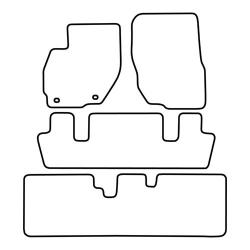 TCP Autospecifieke Pasvorm Automattenset Mitsubishi Space Wagon (002)