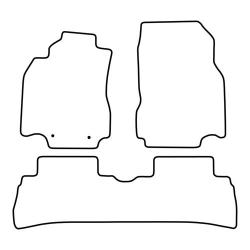 TCP Autospecifieke Pasvorm Automattenset Nissan Cube