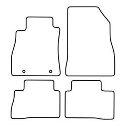 TCP Autospecifieke Pasvorm Automattenset Nissan Juke