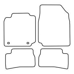 TCP Autospecifieke Pasvorm Automattenset Nissan Mirca (002)
