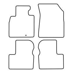 TCP Autospecifieke Pasvorm Automattenset Nissan Mirca (003)