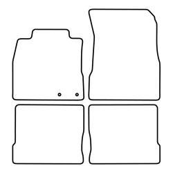 TCP Autospecifieke Pasvorm Automattenset Nissan Note (002)