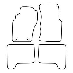 TCP Autospecifieke Pasvorm Automattenset Nissan Pathfinder (001)