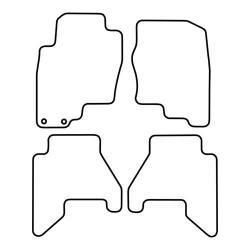 TCP Autospecifieke Pasvorm Automattenset Nissan Pathfinder (002)
