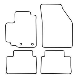 TCP Autospecifieke Pasvorm Automattenset Nissan Pixo