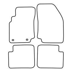 TCP Autospecifieke Pasvorm Automattenset Nissan Primera (001)