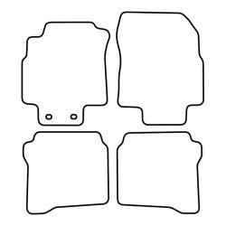 TCP Autospecifieke Pasvorm Automattenset Nissan Primera (003)