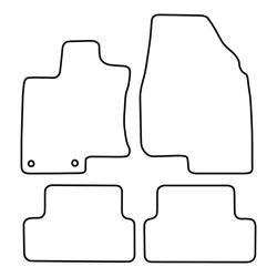 TCP Autospecifieke Pasvorm Automattenset Nissan Qashqai (001)