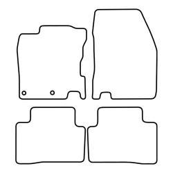 TCP Autospecifieke Pasvorm Automattenset Nissan Qashqai (002)
