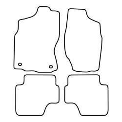 TCP Autospecifieke Pasvorm Automattenset Nissan Terrano