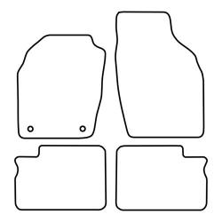 TCP Autospecifieke Pasvorm Automattenset Opel Agila (002)