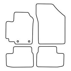 TCP Autospecifieke Pasvorm Automattenset Opel Agila (004)
