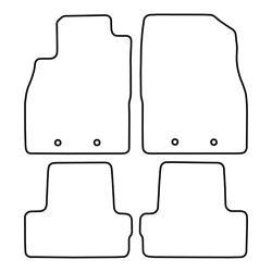 TCP Autospecifieke Pasvorm Automattenset Opel Ampera