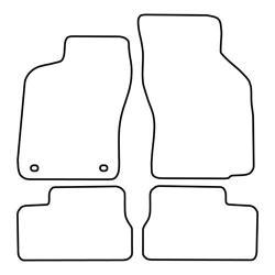 TCP Autospecifieke Pasvorm Automattenset Opel Astra (001)