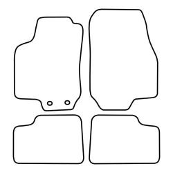 TCP Autospecifieke Pasvorm Automattenset Opel Astra (002)