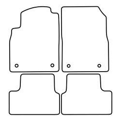 TCP Autospecifieke Pasvorm Automattenset Opel Cascada