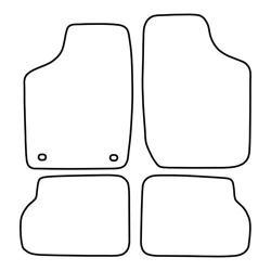TCP Autospecifieke Pasvorm Automattenset Opel Corsa (001)