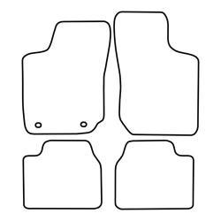 TCP Autospecifieke Pasvorm Automattenset Opel Corsa (002)