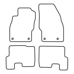 TCP Autospecifieke Pasvorm Automattenset Opel Corsa (004)