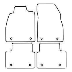 TCP Autospecifieke Pasvorm Automattenset Opel Insignia (002)