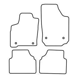 TCP Autospecifieke Pasvorm Automattenset Opel Meriva (001)