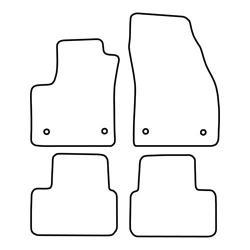 TCP Autospecifieke Pasvorm Automattenset Opel Meriva (002)