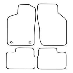 TCP Autospecifieke Pasvorm Automattenset Opel Vectra (001)