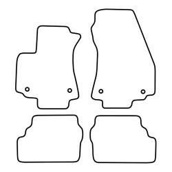 TCP Autospecifieke Pasvorm Automattenset Opel Zafira (001)