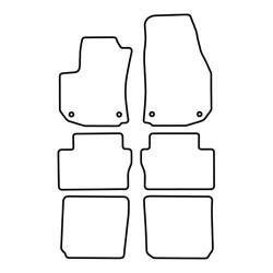 TCP Autospecifieke Pasvorm Automattenset Opel Zafira (002)