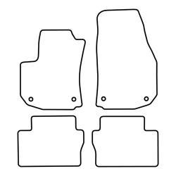 TCP Autospecifieke Pasvorm Automattenset Opel Zafira (003)