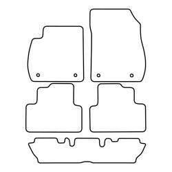 TCP Autospecifieke Pasvorm Automattenset Opel Zafira (005)
