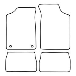 TCP Autospecifieke Pasvorm Automattenset Peugeot 106 (001)