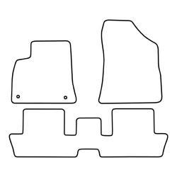 TCP Autospecifieke Pasvorm Automattenset Peugeot 3008