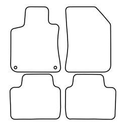 TCP Autospecifieke Pasvorm Automattenset Peugeot 308 (002)