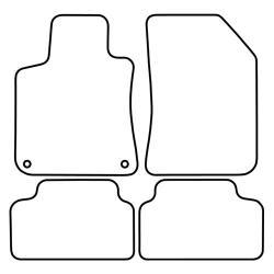 TCP Autospecifieke Pasvorm Automattenset Peugeot 308 (003)