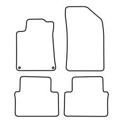 TCP Autospecifieke Pasvorm Automattenset Peugeot 508