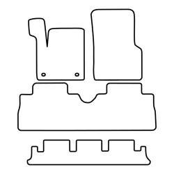 TCP Autospecifieke Pasvorm Automattenset Renault Espace (002)