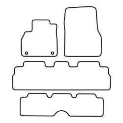 TCP Autospecifieke Pasvorm Automattenset Renault Espace (005)