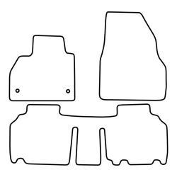 TCP Autospecifieke Pasvorm Automattenset Renault Kangoo (003)