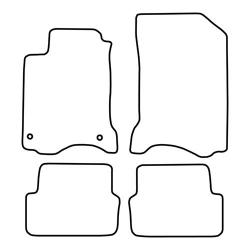 TCP Autospecifieke Pasvorm Automattenset Renault Laguna (003)