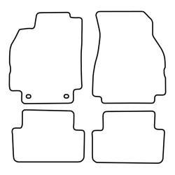 TCP Autospecifieke Pasvorm Automattenset Renault Megane (005)